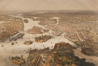 Aerial View of Stockholm. Photo: Wikimedia Commons
