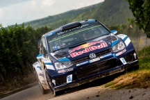 Sebastien Ogier (FRA) performs during the FIA World Rally Championship 2016 Germany in Trier, Germany on August 21, 2016 // Jaanus Ree/Red Bull Content Pool // For more content, pictures and videos like this please go to www.redbullcontentpool.com.