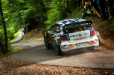 Sebastien Ogier (FRA) performs during the FIA World Rally Championship 2016 Germany in Trier, Germany on August 20, 2016 // Jaanus Ree/Red Bull Content Pool // For more content, pictures and videos like this please go to www.redbullcontentpool.com.